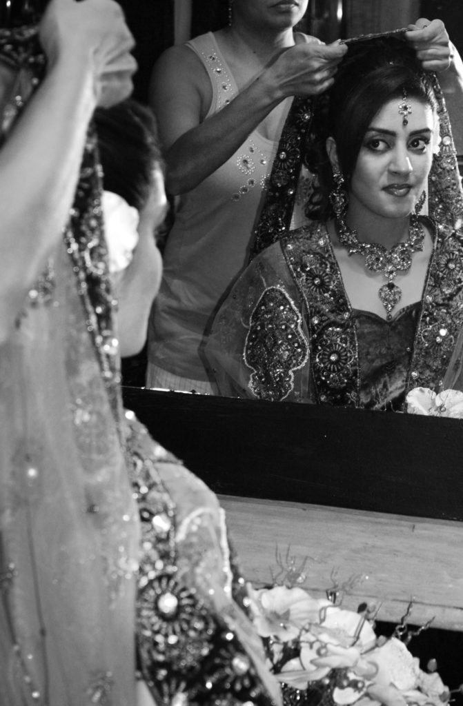 Wedding photography of a Sri Lankan bride, from a shoot with photographer Aamina Nizar
